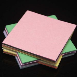 Both side colour origami, Assorted colours, 6.5cm x 6.5cm, 150 sheets, (Papers not perfectly square - sold at a discount), [KY692]